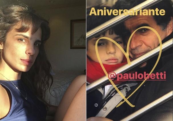 Maria Ribeiro e Paulo Betti (Foto: Reprodução)