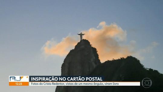 Uma carioca olhou pela janela de casa e registrou fotos inspiradoras