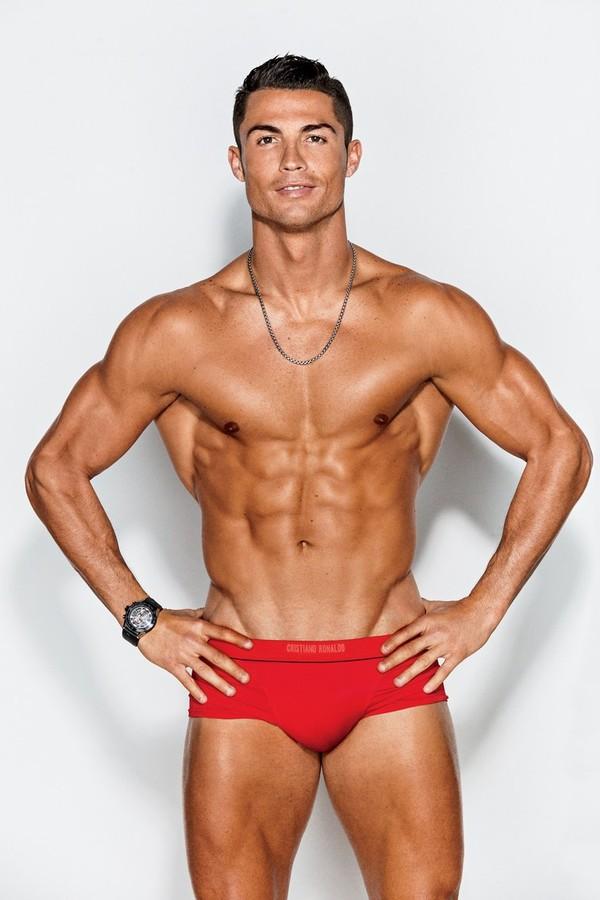 Cristiano Ronaldo para a GQ USA (Foto: Ben Watts)