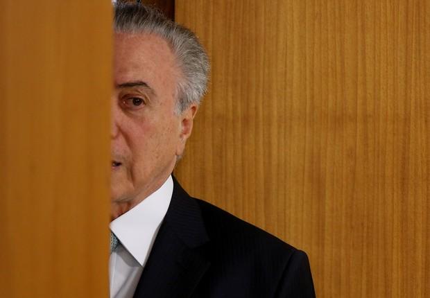 O presidente brasileiro Michel Temer  (Foto: Adriano Machado/Reuters)