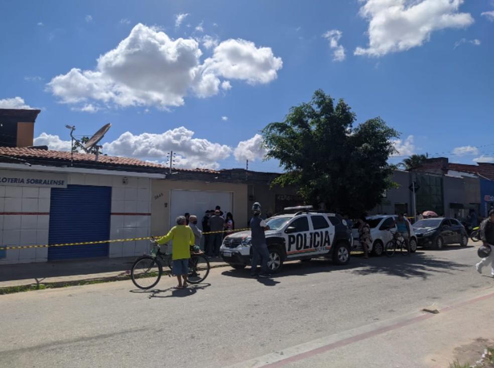 Ocorrência foi registrada no Bairro Granja Lisboa. 32º Distrito Policial investiga o caso. — Foto: Brenda Albuquerque/Sistema Verdes Mares