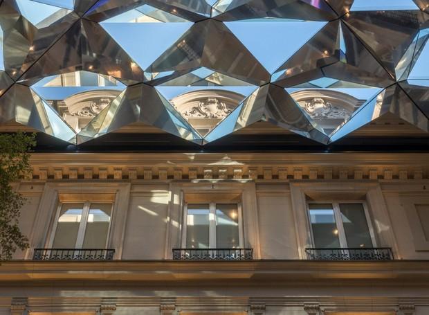 Nova loja da Apple em Paris, Champs-Elysée (Foto: Nigel Young/ Reprodução)