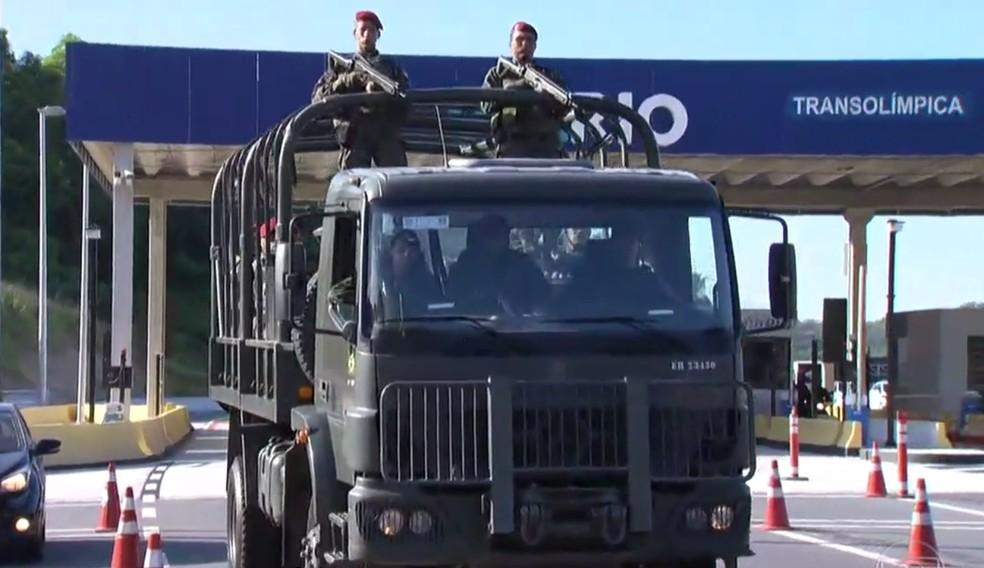Após reforço no primeiro semestre, Rio volta a receber Forças Armadas em breve, diz Ministro da Defesa (Foto: Reprodução)