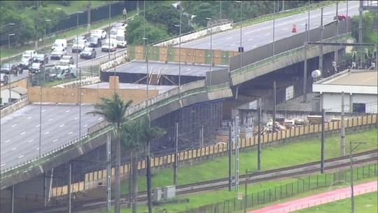 Prefeitura libera trechos da pista expressa da Marginal Pinheiros