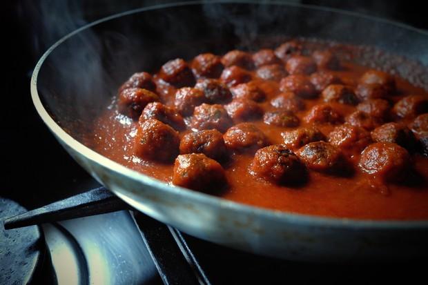 Spaghetti com polpettine (Foto: Andre Lima de Luca)