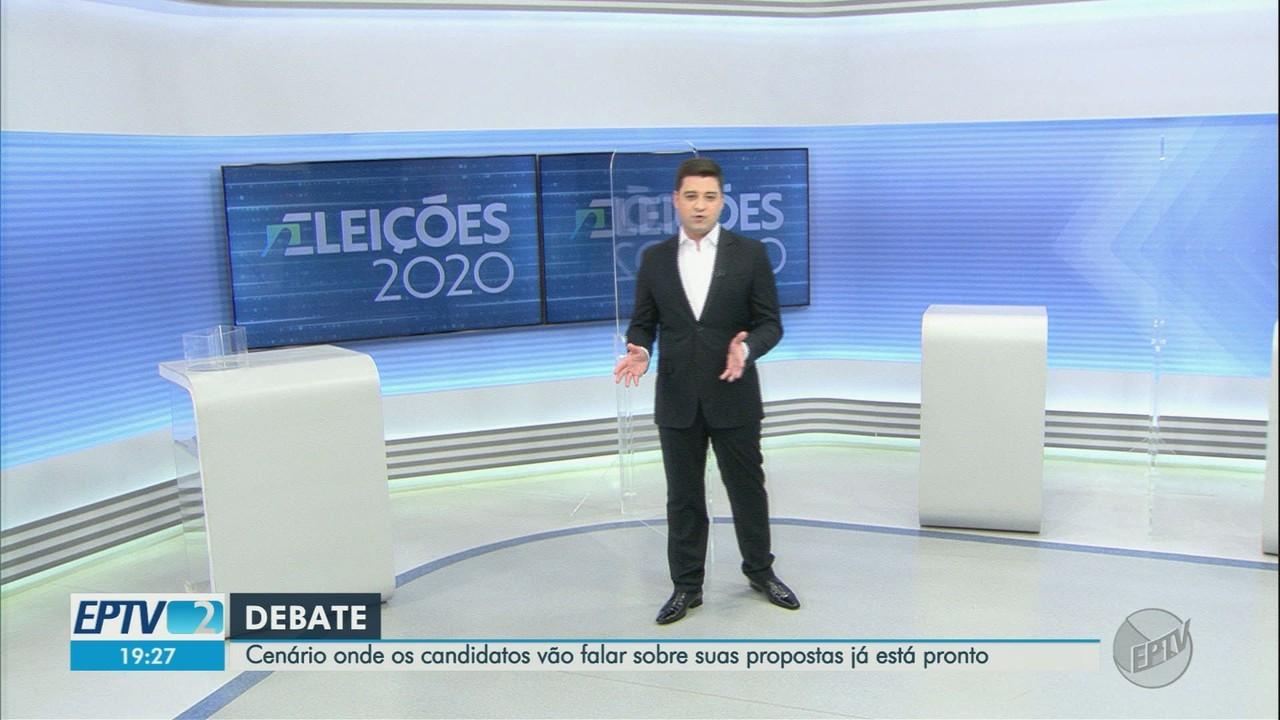 EPTV realiza debate com candidatos a prefeito de Ribeirão Preto nesta sexta-feira