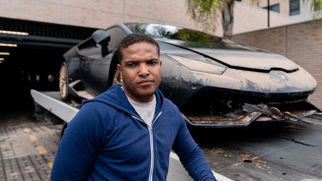Lamborghini na enchente: veja como ficou o carro depois do alagamento