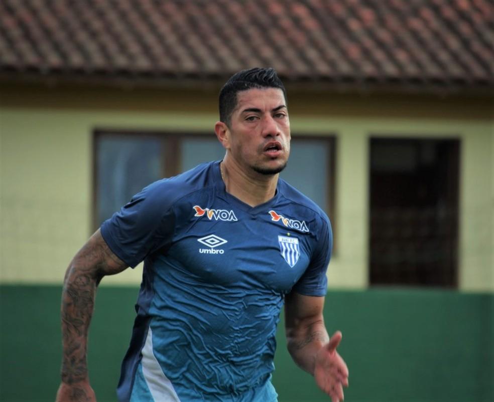 Ralf vai disputar a Série B pelo Avaí — Foto: André Palma Ribeiro / Avaí FC