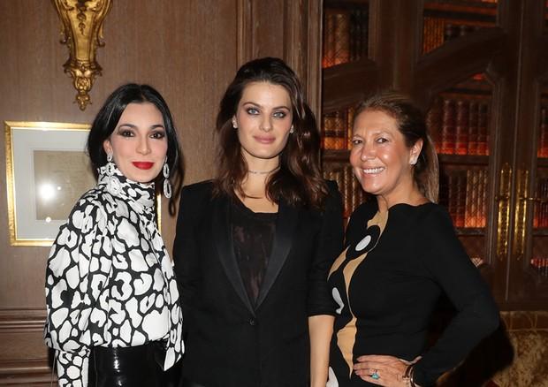 Renata Figueiredo, estilista da Tig, a top Isabeli Fontana e nossa diretora de estilo, Donata Meirelles (Foto: Antonio Barros)