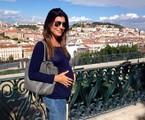Joana Balaguer em Portugal | Arquivo pessoal