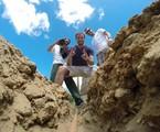 Max Fercondini e equipe do quadro 'Expedição Terra, do programa 'Como será?'  | TV Globo