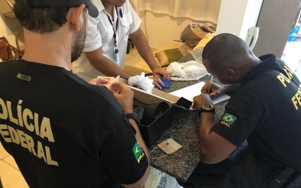 Operação da Polícia Federal — Foto: PF/SE/Divulgação