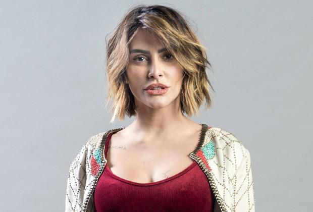 Cleo interpreta Betina, antagonista da trama (Foto: Raquel Cunha/TV Globo)