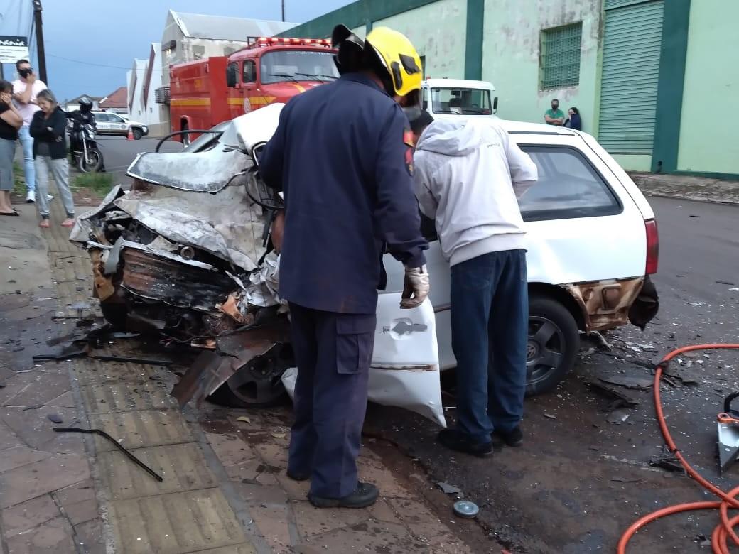 Três pessoas morrem em acidente em Cruz Alta