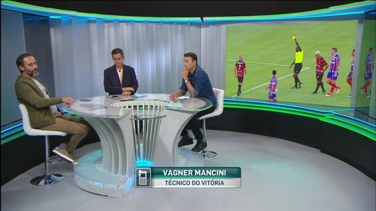 Por telefone, Vagner Mancini comenta cenas de violência no clássico Ba-Vi