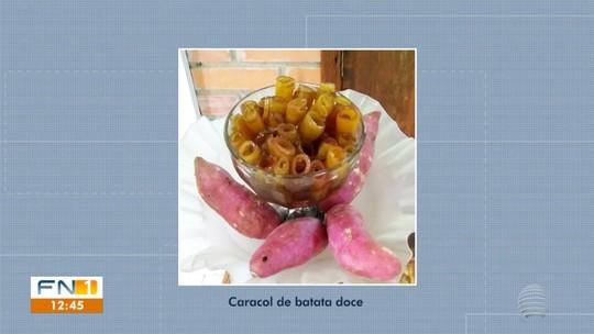 Caracol de Batata-doce participa da etapa final do Concurso #Receitando