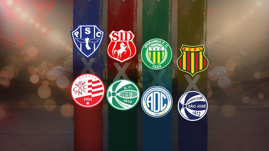 CBF divulga tabela do mata-mata da Série C do Campeonato Brasileiro