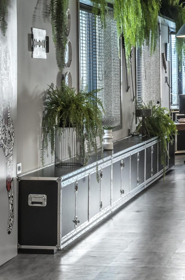 Nova sede conceito traz decoração moderna e toque industrial (Foto: Reprodução/Divulgação)