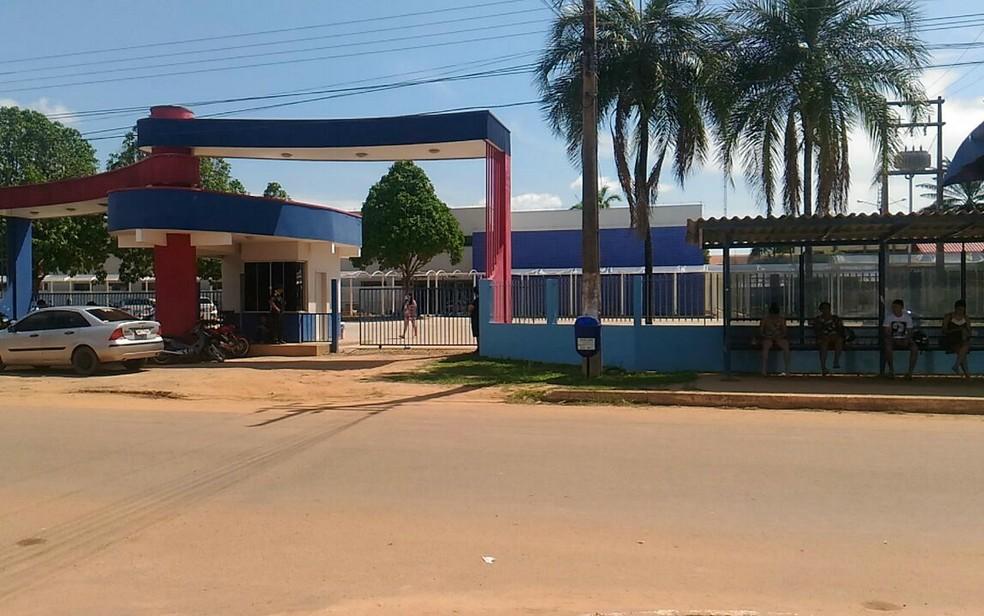 Campus da Unir em Ji-Paraná — Foto: Pâmela Fernandes/Arquivo/G1