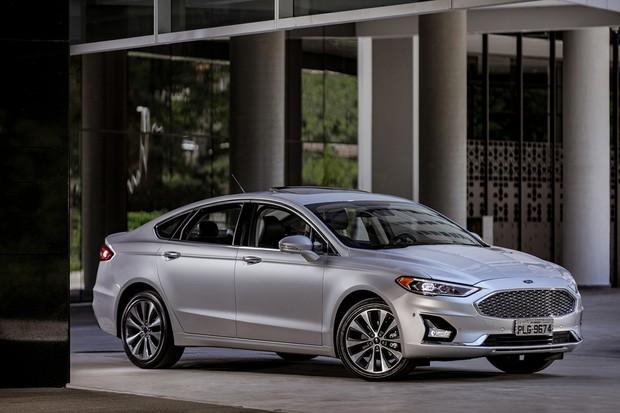 Ford Fusion Titanium 2019 (Foto: divulgação)