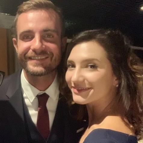 Max Fercondini e Lorena Comparato (Foto: Reprodução/Instagram Alexandre Moreno)