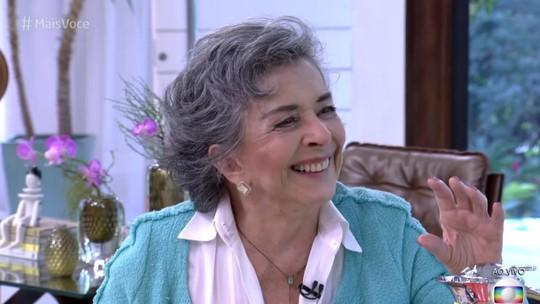 Público fica encantado com participação de Betty Faria no 'Mais Você'