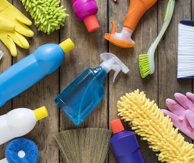 Produtos de limpeza (Foto: Thinkstock)