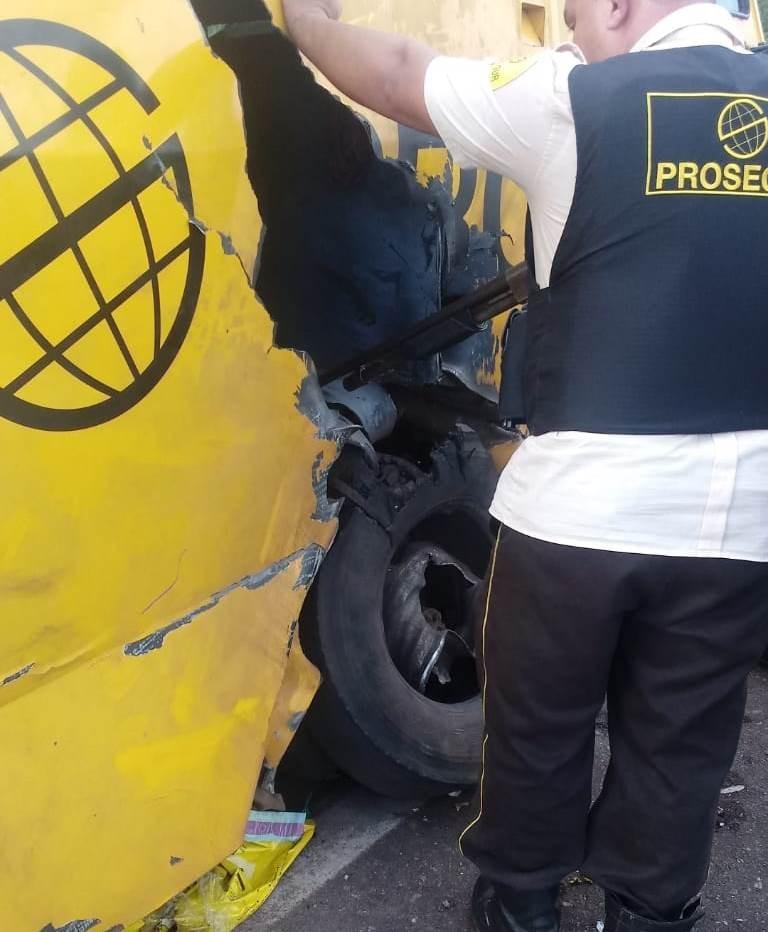 Quadrilha fortemente armada explode carro-forte no Pará - Notícias - Plantão Diário