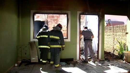 Perícia vai apontar o que provocou incêndio em casa que matou criança em Guaraci