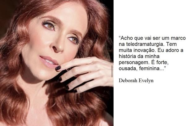Deborah Evelyn interpretará uma estilista e se envolverá com um modelo (Foto: Reprodução)