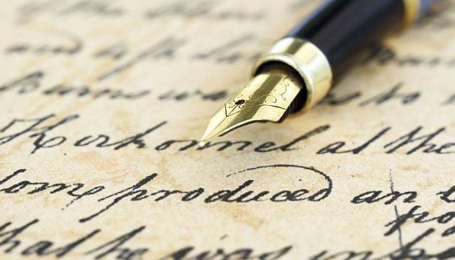 Carta (Foto: Arquivo Google)