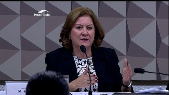 Miriam Belchior diz que órgãos técnicos não têm autonomia no processo