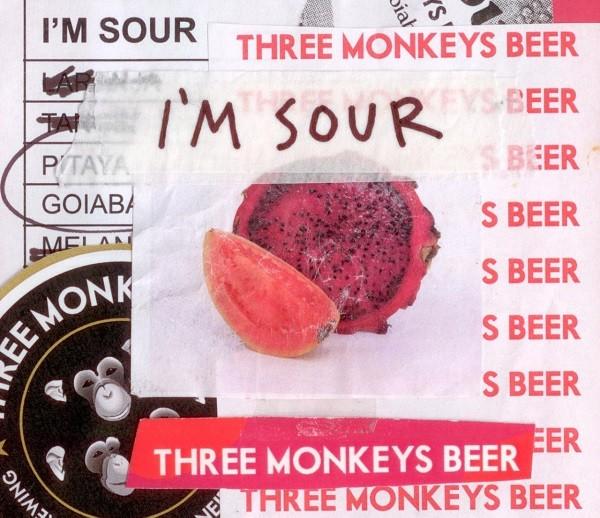 Rótulo de uma das sours do portfólio da Three Monkeys