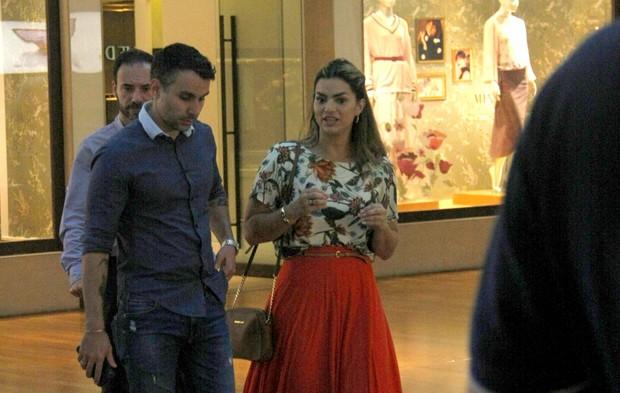 Mico Freitas e Kelly Key (Foto: AgNews)