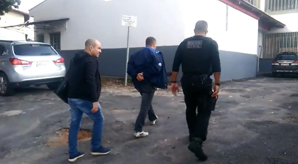 Polícia Civil prendeu suspeitos em megaoperação em Poços de Caldas (MG) — Foto: Polícia Civil