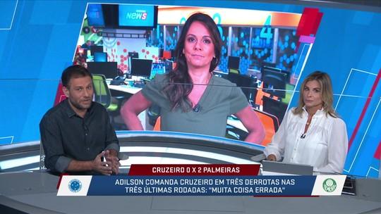 """Comentaristas analisam queda do Cruzeiro: """"Gestão patética"""""""
