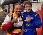 Marcos Breda e Rafael Cardoso | Arquivo pessoal