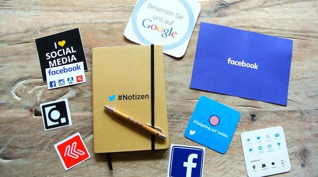 Redes sociais, facebook, instagram, twitter (Foto: Reprodução/Pexel)