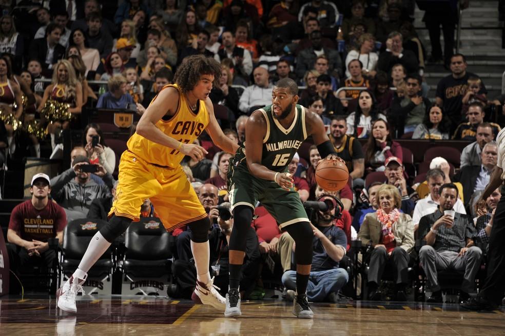 Anderson Varejão jogou também pelo Cleveland Cavaliers (Foto: Getty Images)
