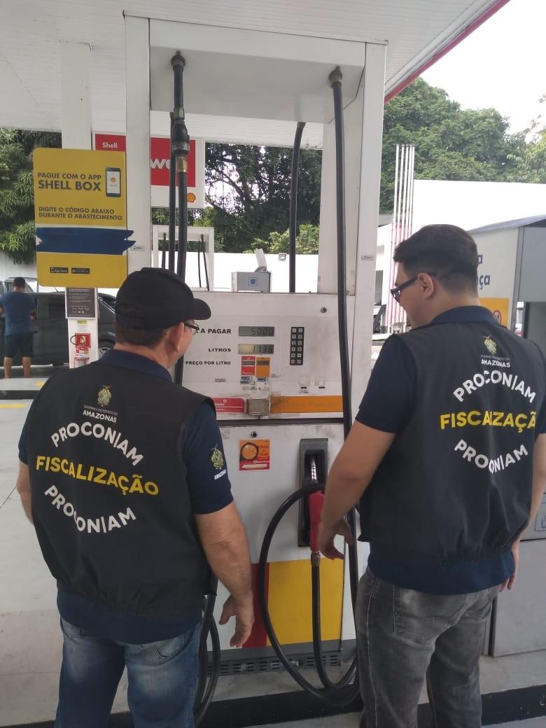 Seis postos são notificados por prática abusiva em preços de combustíveis, em Manaus