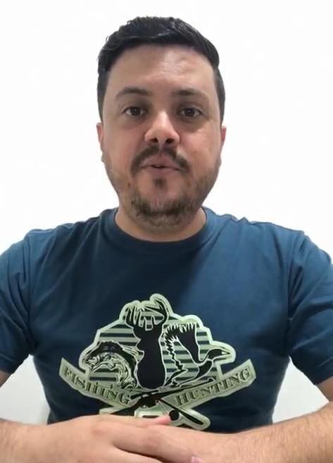 Vereador de Uberlândia Eduardo Moraes divulga teste negativo para Covid-19