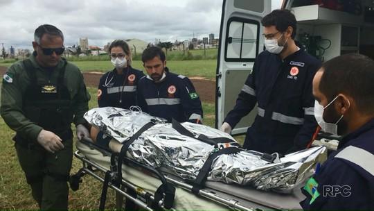 Rapaz tem corpo queimado ao tentar acender churrasqueira em Maringá