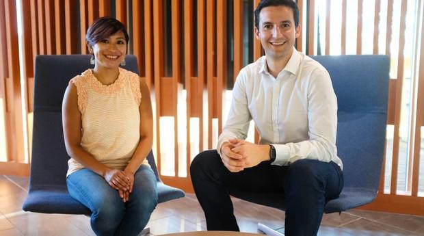 Pedro Moura e Jessica, fundadoras da Flourish (Foto: Divulgação/Arquivo pessoal)