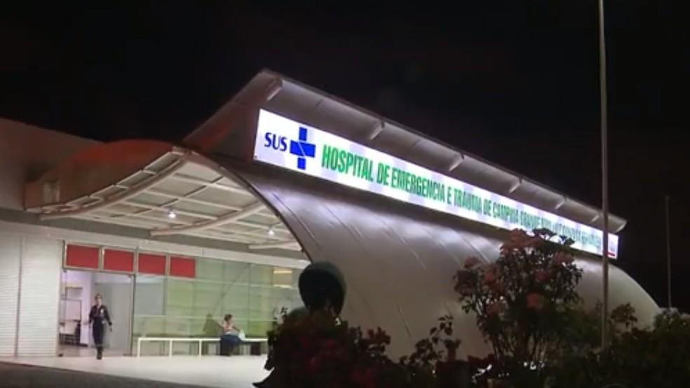 Policial militar foi levado para Hospital de Trauma de Campina Grande, mas já teria chegado à unidade de saúde sem vida (Foto: Reprodução/TV Paraíba/Arquivo)