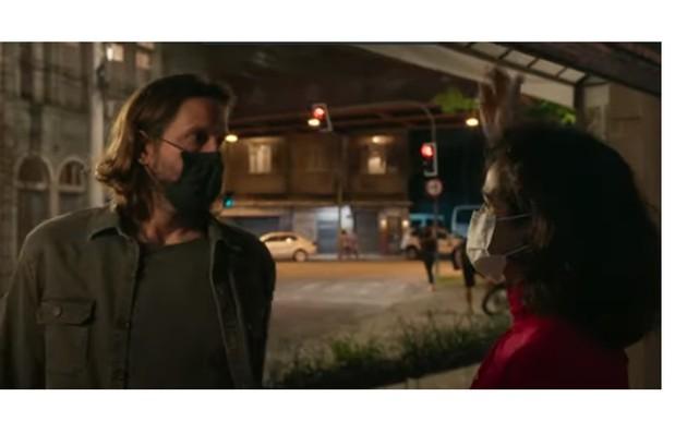 Davi (Vladimir Brichta) e Érica (Nanda Costa) viverão um romance na fase final de 'Amor de mãe' (Foto: Reproução)
