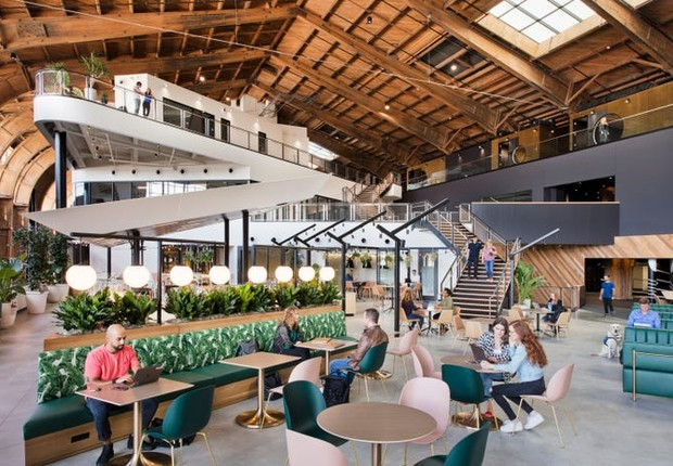 Projeto do novo escritório do Google, em Los Angeles (Foto: Google por Connie Zhou)