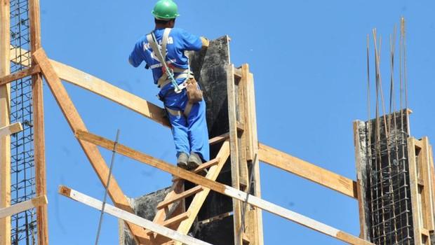 Indústria da construção teve aumento de confiança (Foto: Elza Fiúza/Agência Brasil)