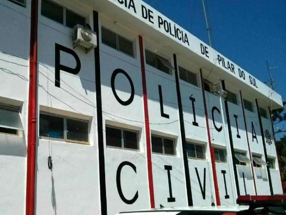 Caso está sendo investigado pela Polícia Civil de Pilar do Sur (Foto: Cláudio Nascimento/ TV TEM)
