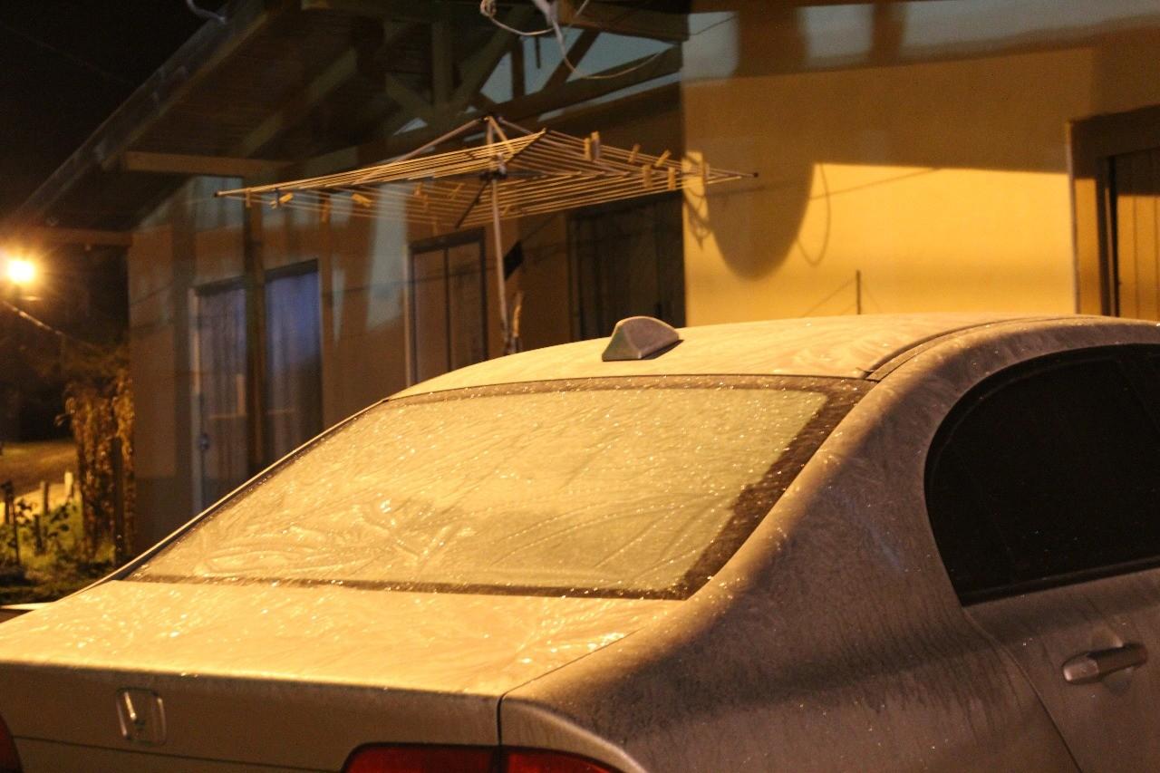 Com -5,2ºC, cidade de SC registra o dia mais frio de 2018