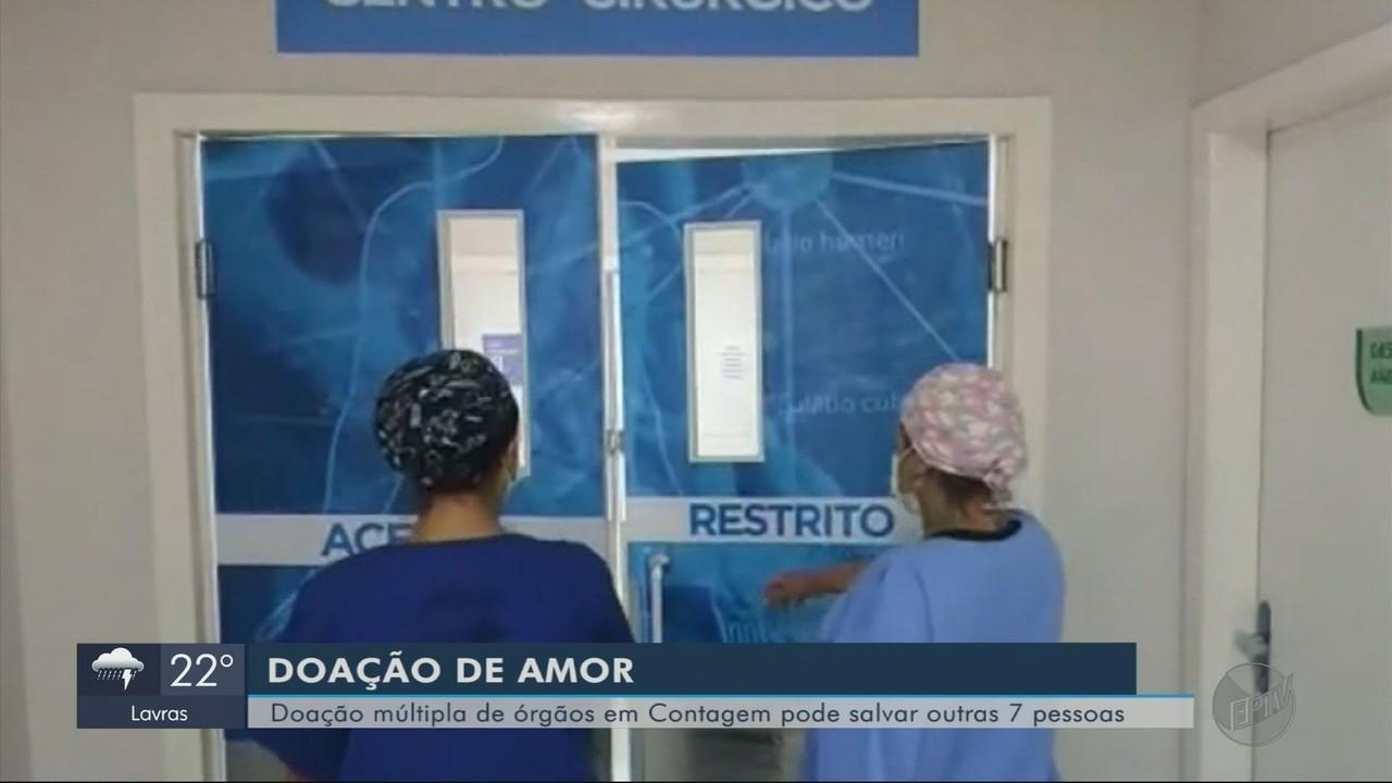 Doação múltipla de órgãos em Contagem pode salvar outras sete pessoas